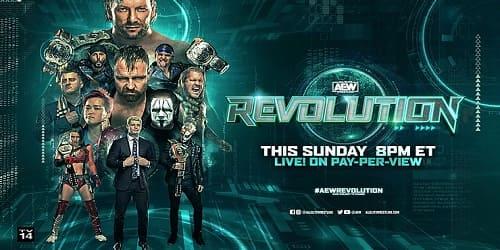 AEW Revolution 2021 Repeticion
