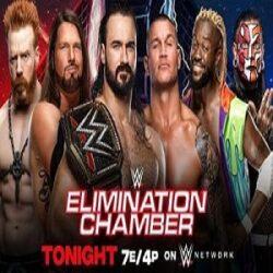 WWE Elimination Chamber 2021 Repeticion