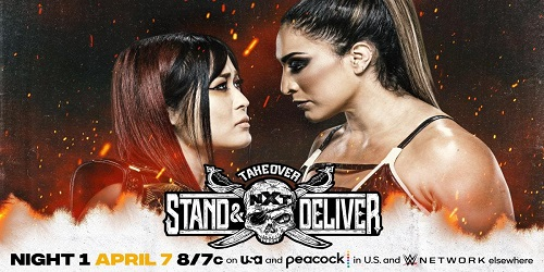 WWE NXT TAKEOVER Stand Deliver 2021 Shirai VS Gonzalez