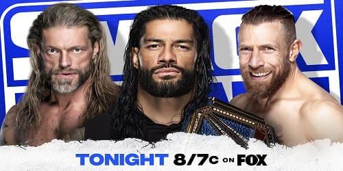 WWE SmackDown 2 de abril 2021 roman daniel edge