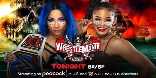 WWE WrestleMania 37 repeticion noche 1