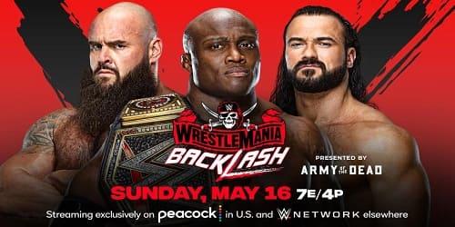 WWE WrestleMania BackLash 2021 Repeticion