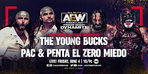 AEW Dynamite 4 junio 2021 Repeticion y Resultados young bucks