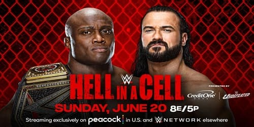 WWE Hell in a Cell 2021 Repeticion