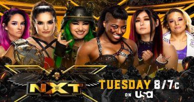 WWE NXT 29 de junio 2021 repeticion y resultados womens