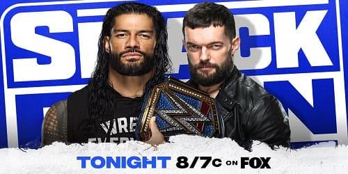 WWE SMACKDOWN 30 DE JULIO 2021 REPETICION Y RESULTADOS ROMAN VS FIN