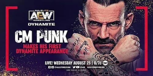 AEW Dynamite 15 de agosto 2021 repeticion y resultados CM punk