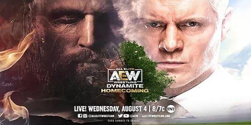 AEW Dynamite 4 de Agosto 2021 Repeticion