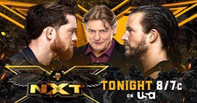 WWE 10 DE AGOSTO 2021 REPETICION Y RESULTADOS ADAM COLE