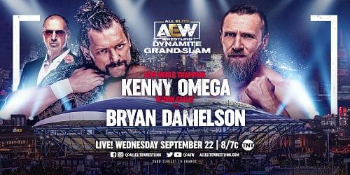 AEW Dynamite Grand Slam 22 de Septiembre 2021