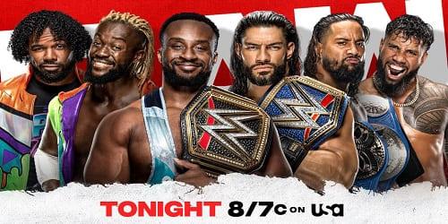 WWE RAW 20 de Septiembre 2021 Repeticion