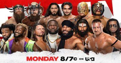 WWE RAW 6 de Septiembre 2021 Repeticion