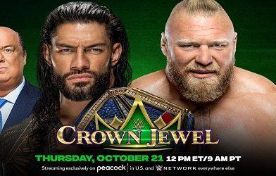 WWE Crown Jewel 2021 Repeticion