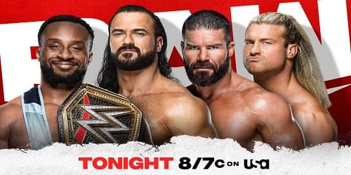 WWE RAW 18 de Octubre 2021 Repeticion